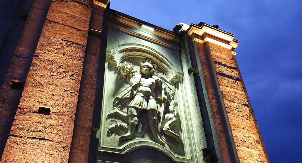 The 1st Gate, The gates of the Alba Carolina
