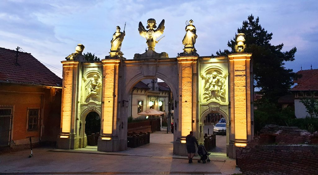 The 1st Gate, Alba Carolina, Romania