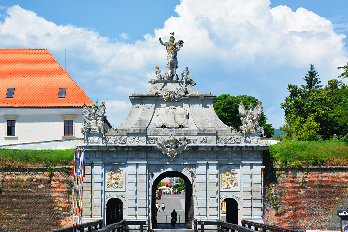 The 3rd Gate Alba Carolina Citadel Romania