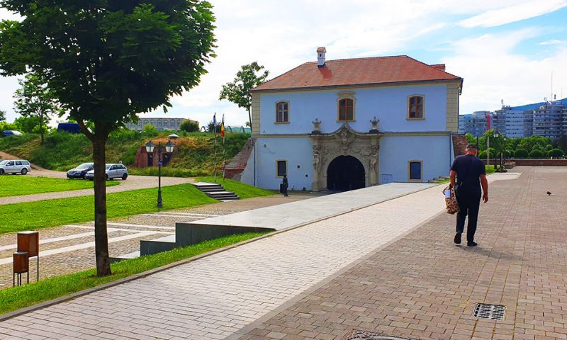 Poarta a IV-a Alba Carolina, Romania