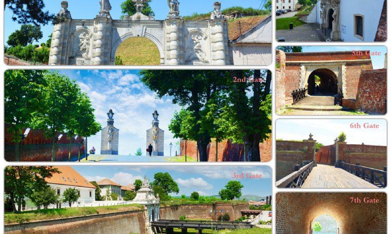 The gates of the Alba Carolina