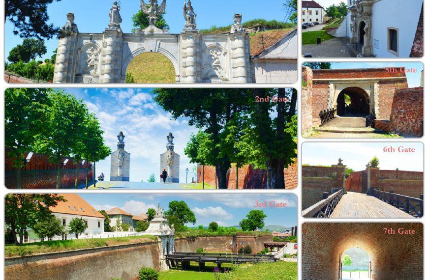 The gates of the Alba Carolina bastion fortress