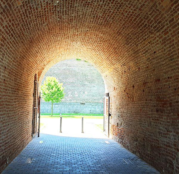 Poarta a VII-a a cetatii Alba Carolina