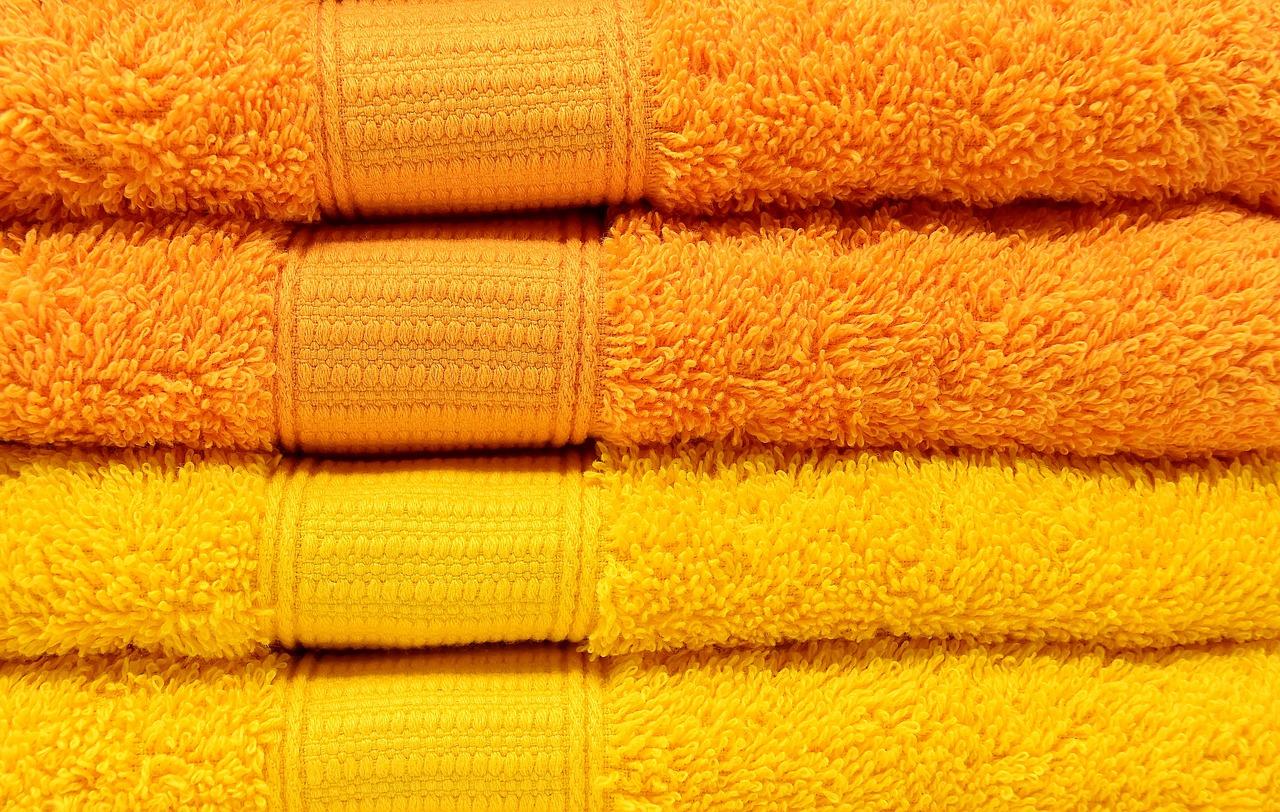 towels, yellow, orange-3279690.jpg
