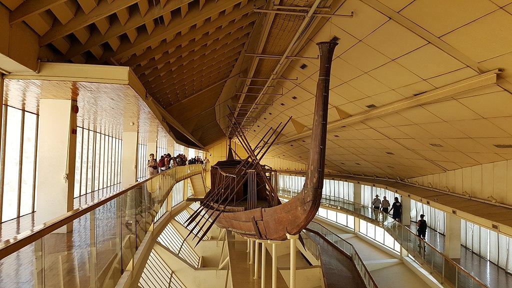 Khufu Solar Boat, Egypt
