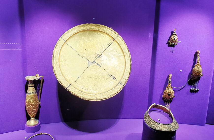 Tezaurul Romaniei la Muzeul National de Arheologie din Madrid